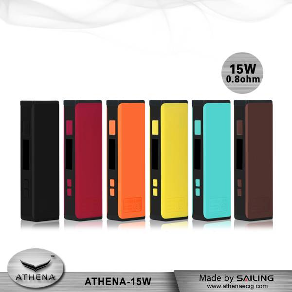 Sailing china wholesale super mini size 15w ecig box mod for  vape