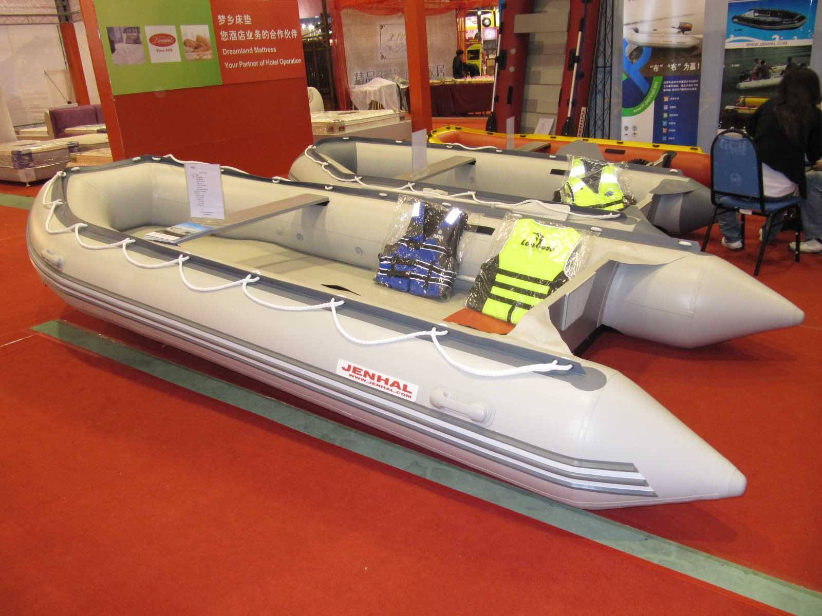 Y-480  inflatable boat  yacht tender fishing boat outboard motor boat
