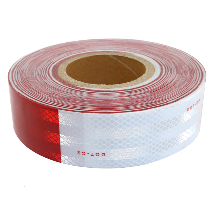 High Conspicuity Acrylic Material Reflective Tape for Truck