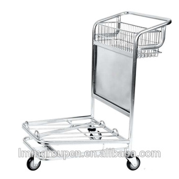 airport luggage trolley with brake supplier wholesale