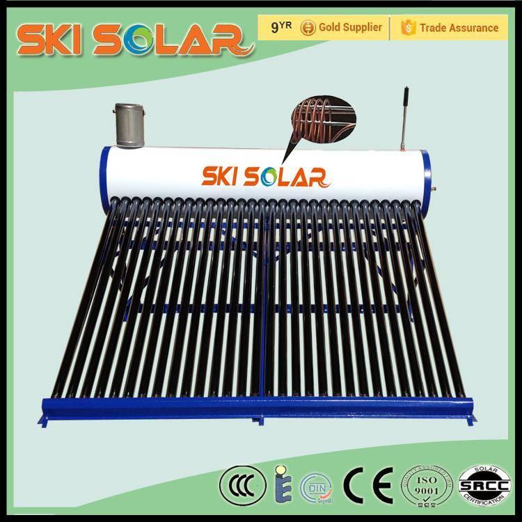 Compact pre-heated solar energy systems