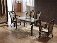 New Design Rattan table and Chairs for Dining