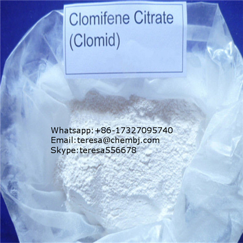Male Gain Muscle Clomphid Steroid Hormone 50-41-9 Clomifene Citrate
