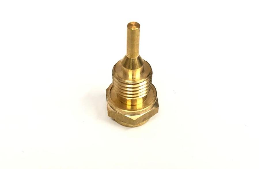 Brass temperature switch housing