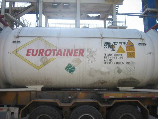 High Purity refrigerant gas r32