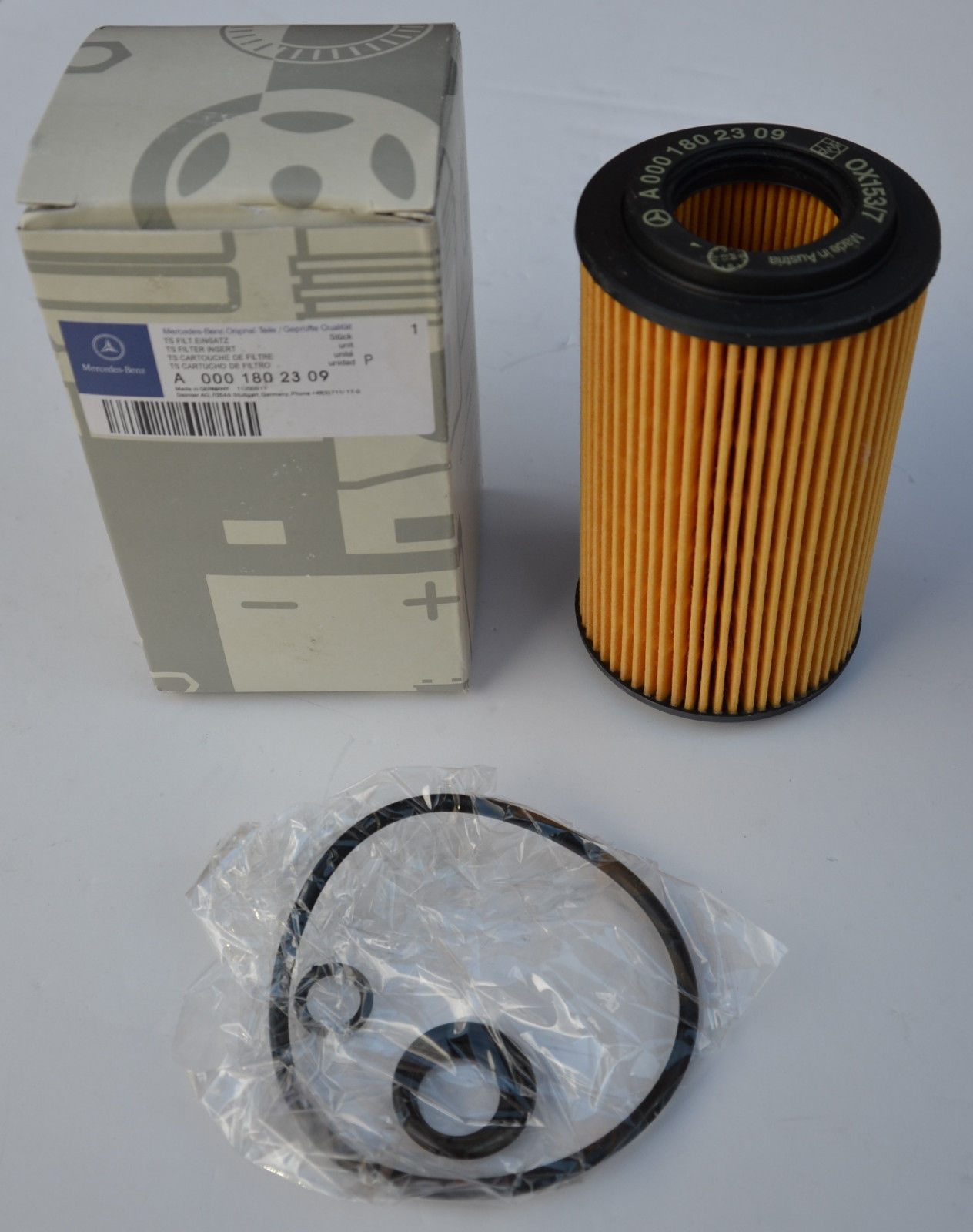 Benz Oil Filters A0001802309 For Car And Truck