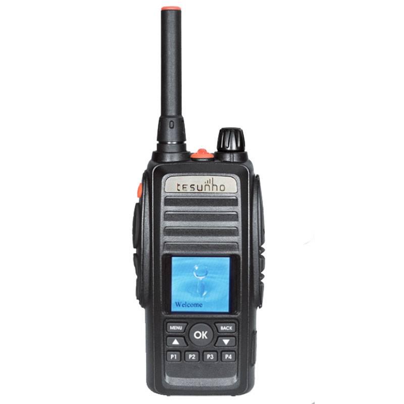 Portable sim card gsm cellular gps tracking walkie-talkie