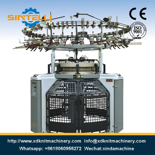 Single Computerized Terry Jacquard Circular Knitting Machine