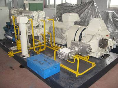 CNG compressor for daughter stations