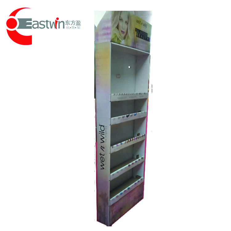 Paper Book Shelf/Corrugated Book Display/Portable Book Display Stand