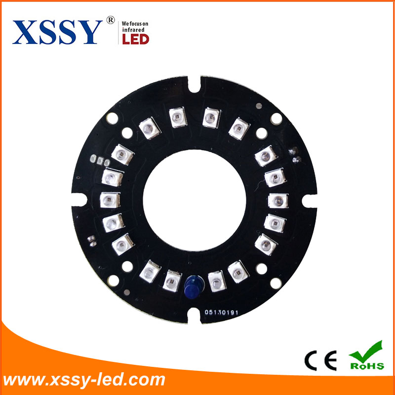 XSSY 60-18 IR board with 3 kinds of degree use for police dog security camera