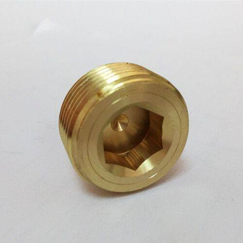 Mould waterline brass water pressure plug