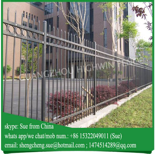 15 years fence manufacturer designs for steel fence