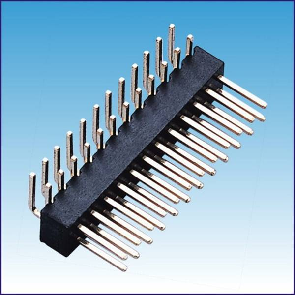 2.54mm pin header 90 degree H:4.30