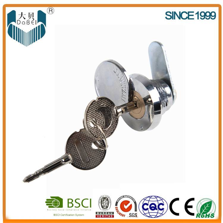 Outside Use Cabinet Disc Cam Locks 15mm Length with Protective Cover (107)