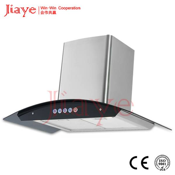 Popular kitchen chimney 900mm with 24# copper motor JY-HP9033