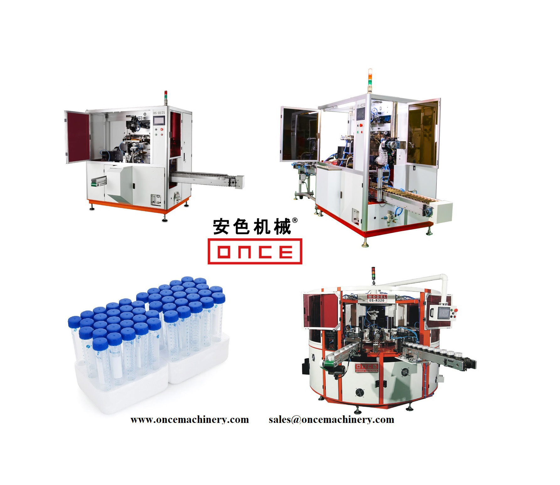 Huayu Automation Manufacture Centrifuge Tube Screen Printing Machines for Medical Medicine