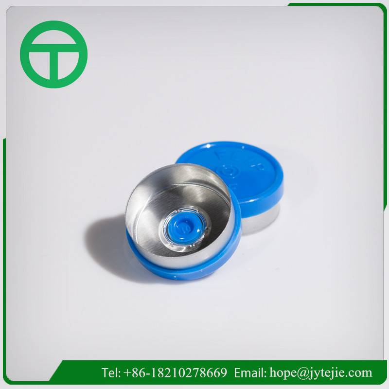 Custom Logo Flip off Caps/plain aluminium plastic seal/13mm,20mm,32mm