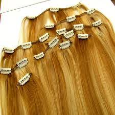 Clip in hair extensions(Clip on hair extensions)