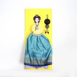 Paper Doll Handkerchief