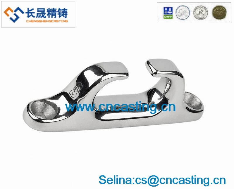 Stainless Steel Investment Casting of marine hardware fairlead