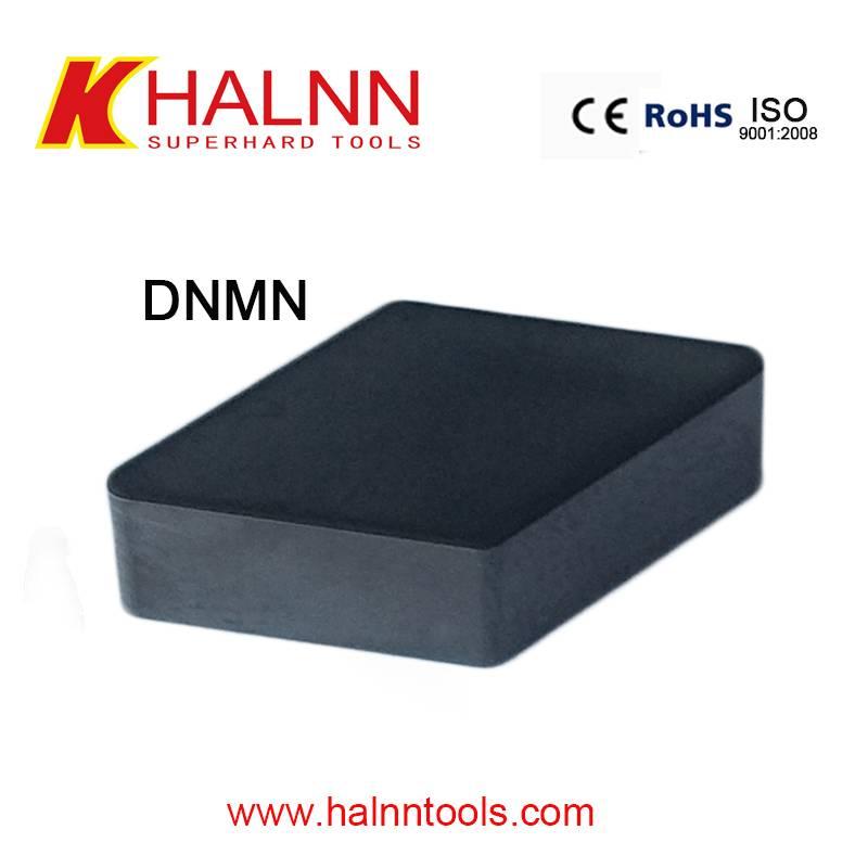 DNMN BN-S20 Hard turning insert form Halnn solid cbn insert,famous cbn insert brand in China