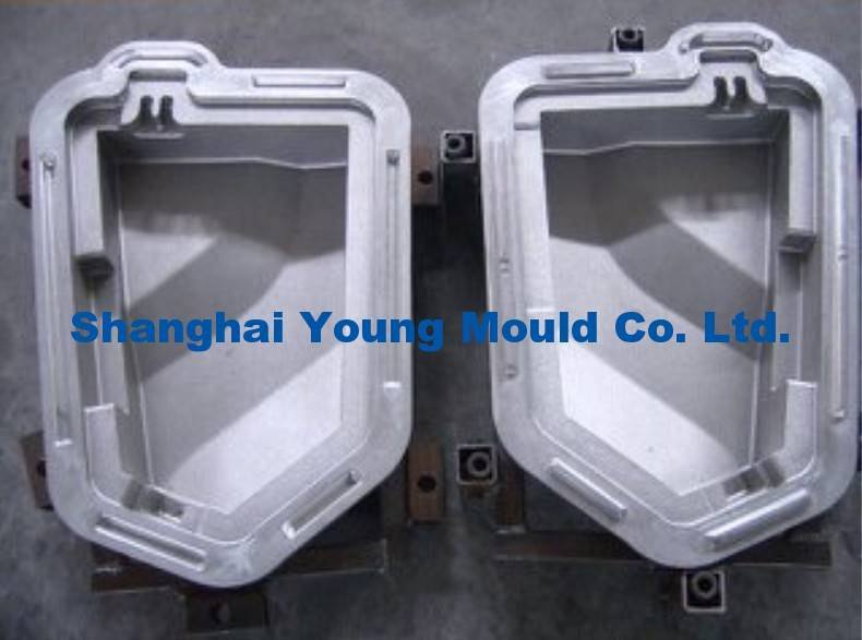 Rotomolding Plastic Oil Tank Mold, Moulds for Rotational Moulding, Roto Aluminum Form
