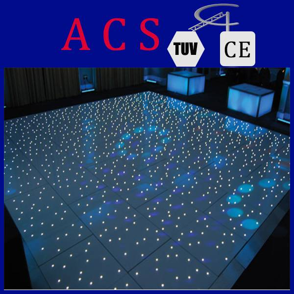 Newly designed twinkle RGB led dance floor