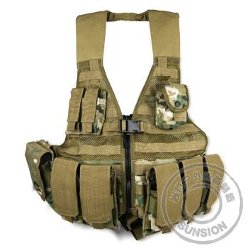 Tactical Vest with Molle system