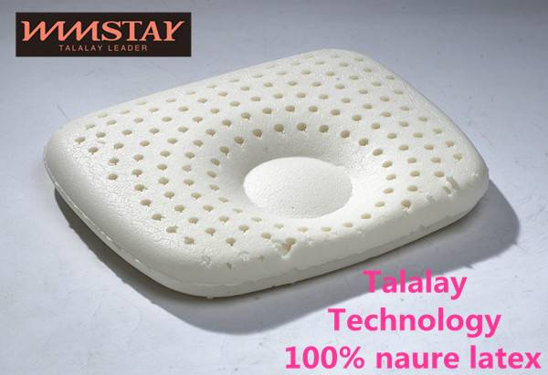 Talalay Technics Process 100% Nature Latex Foam Pillow Standard Pillow Baby Pillow