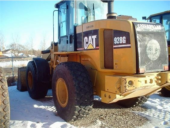 Used Wheel Loader CAT 928G of 2005,In Fairly Well Condition