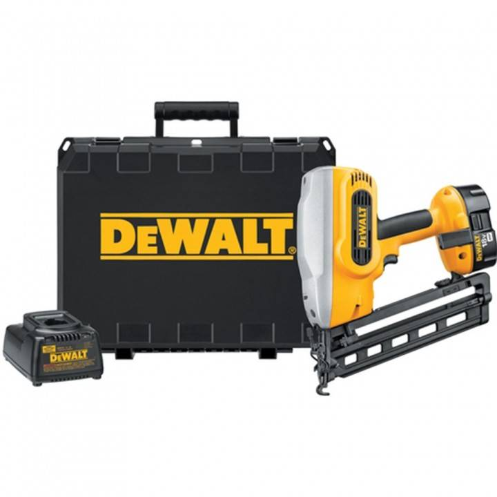 Dewalt DC618K Heavy-Duty XRP™ 18V Cordless 1-1/4'' - 2-1/2'' 16 Gauge 20 Angled Finish Nailer