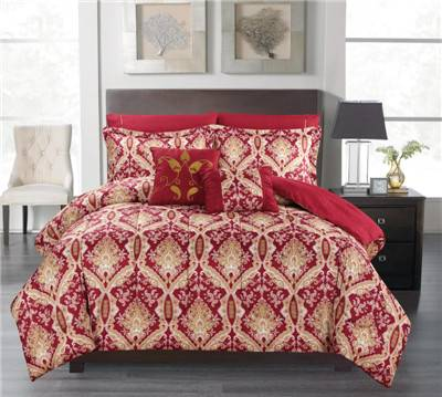 Reversible 3/7pcs comforter Set