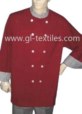 Chef coat chef uniform restaurant uniform GCC01