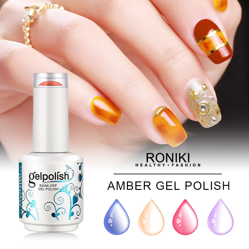 Roniki Forest Green Series Color Gel,Nail Painting Color Gel,Nail Art Gel