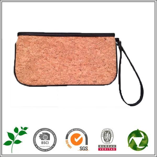 cork cosmetic bag