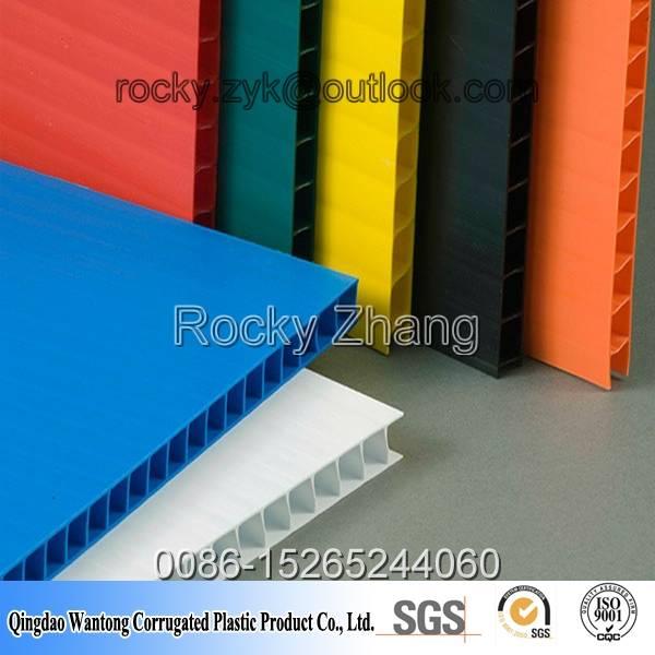 PP plastic sheet board panel corflute correx coroplast