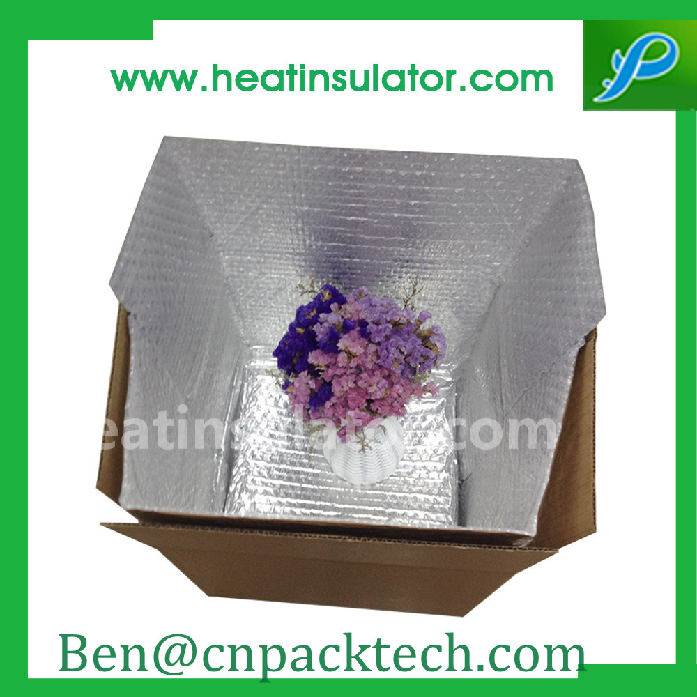 Cool Shiled Insulated Thermal Box Liners With Reflective Metallic Film