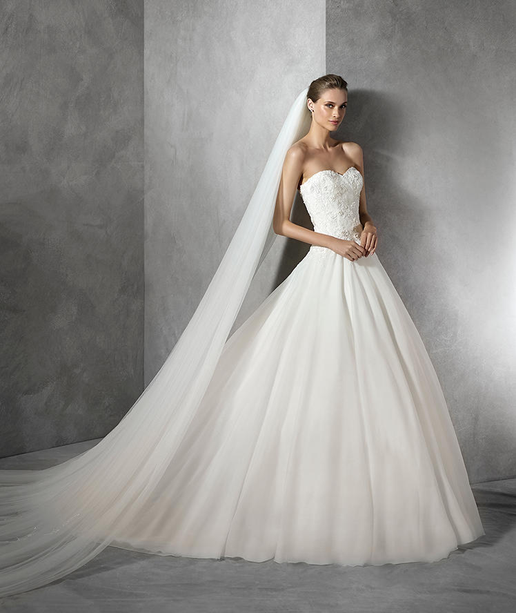 new design top quality wedding dress for bridal