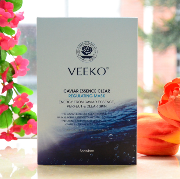 VEEKO Caviar purification essence moisturizing clear muscle conditioning silk mask genuine