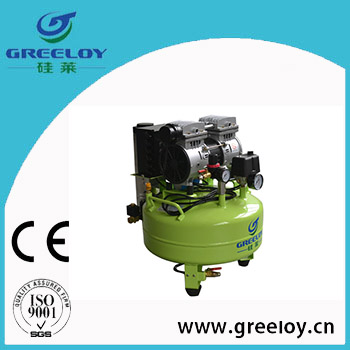 silent oil free air compressor with dryer with 600W motor