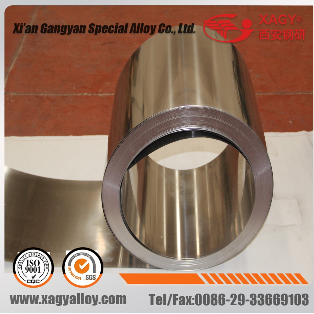 HiperCo50 1J22 AFK502 Soft magnetic alloy made in china round bar supplier