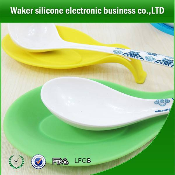 silicone spoon holder