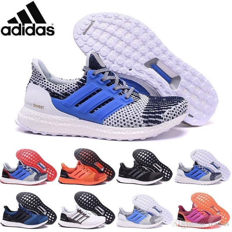 2016 Originals Adidas Ultra Boost Primeknit Men & Women Running Shoes Classic Ultra Boosts Womens Me