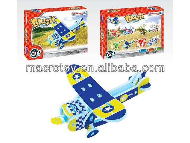 foam toy blocks helicopter 3pcs