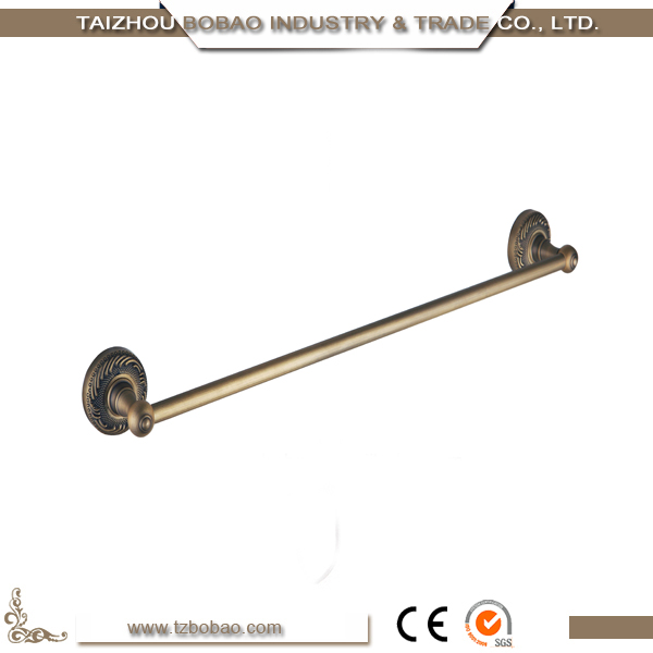 Cheap Price Bathroom Accessories Antique Gold Single Towel Bar