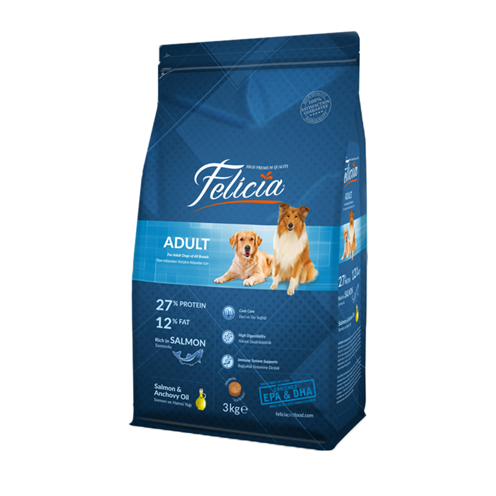 Dog and Cat Dry Food - Chicken & Lamb & Salmon - 2kg 3kg 12kg 15 kg