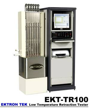Low Temperature Retraction Tester Equipment EKT-TR100