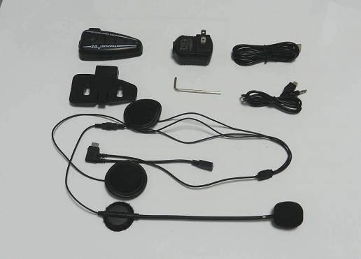D0 Bluetooth helmet headset 10 meters