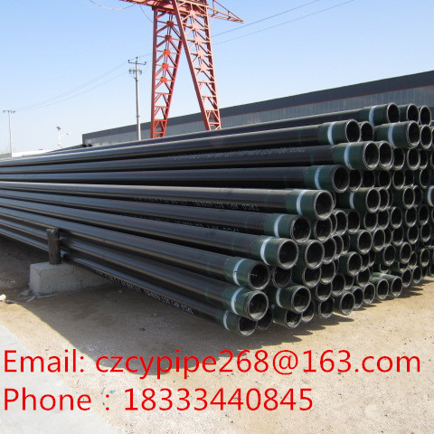 API 5CT J55 K55 N80 L80 P110 Petroleum casing for oil project